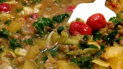 pumpkin-lentil-stew